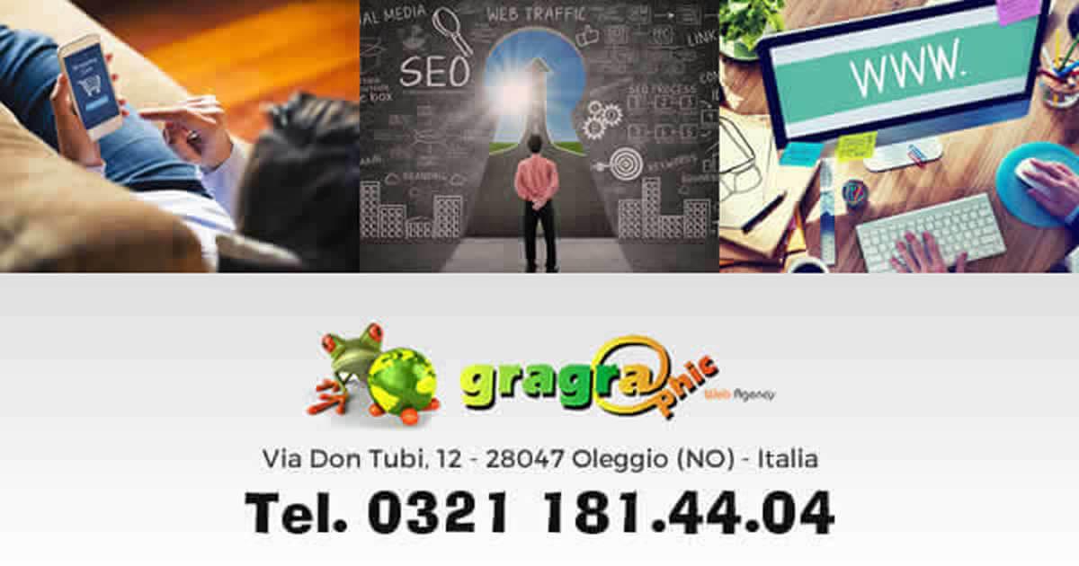 Sei di Prato Sesia, cerchi una agenzia web per la realizzazione e-commerce contatta Gragraphic
